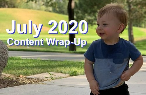 July 2020 Content Wrap-Up