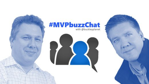 #MVPbuzzChat Episode 103 with Microsoft Regional Director and Data Platform MVP Andrew Brust