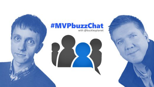 #MVPbuzzChat with Microsoft Regional Director and Developer Technologies MVP Gill Cleeren