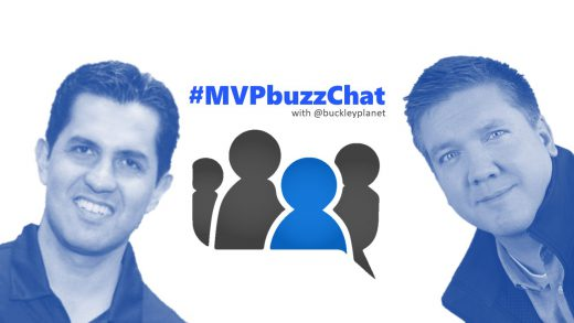 #MVPbuzzChat Episode 104 with Microsoft Regional Director and Developer Technologies MVP Esteban Garcia