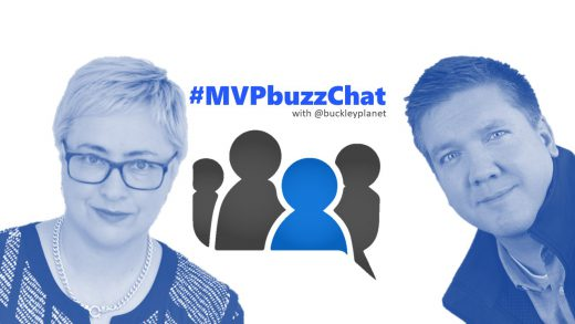 #MVPbuzzChat Episode 105 with Microsoft regional Director Kate Carruthers