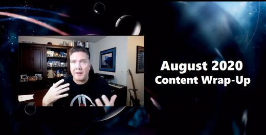 August 2020 Content Wrap-Up