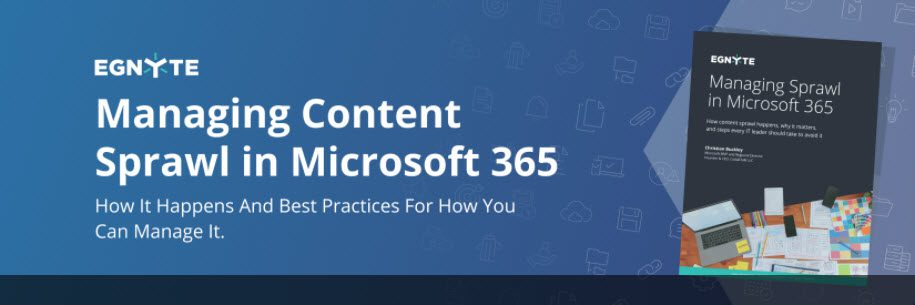 Managing Content Sprawl in Microsoft 365