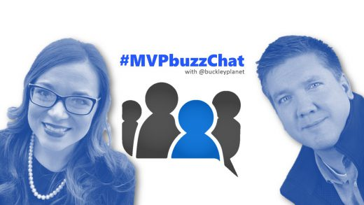 #MVPbuzzChat Episode 109 with Business Applications MVP Mary Thompson