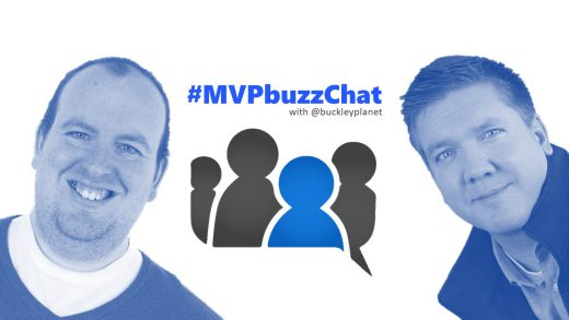 #MVPbuzzChat Episode 108 with Microsoft Azure MVP Martyn Coupland