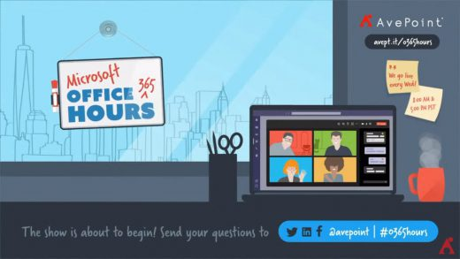 Microsoft 365 Office Hours on the AvePoint channel