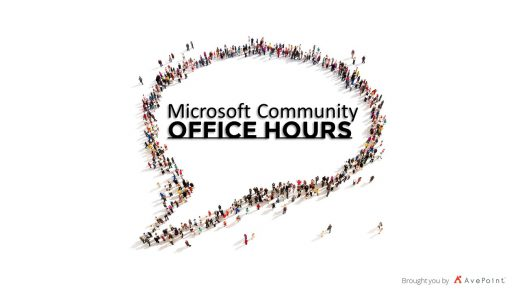 Microsoft Community Office Hours